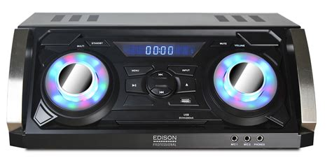 Edison Professional Party System 1220 Bluetooth Speaker