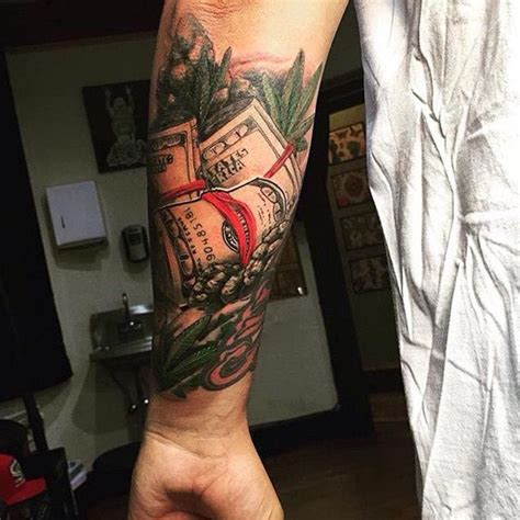 125+ Money Tattoos to Show Your Swag! - Wild Tattoo Art