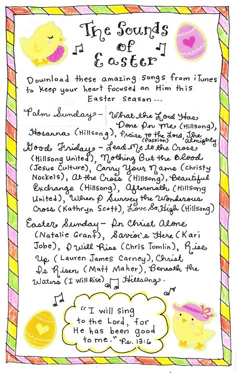 The Sounds of Easter - Happy Home Fairy