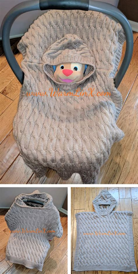 Ponchos for Babies and Children Knitting Patterns   In the