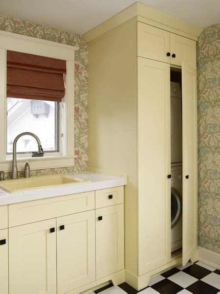 HOME DZINE Kitchen | Space for a washing machine and