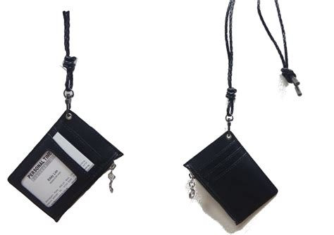 Buy PU Leather Card Holder With Coin Zipper Pouch And