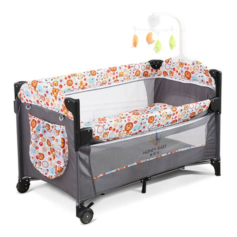 BABY Crib Bedside Cot Bed Portable Foldable Travel