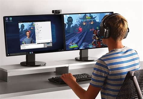 Logitech C922 Pro Stream Webcam is perfect for Twitch