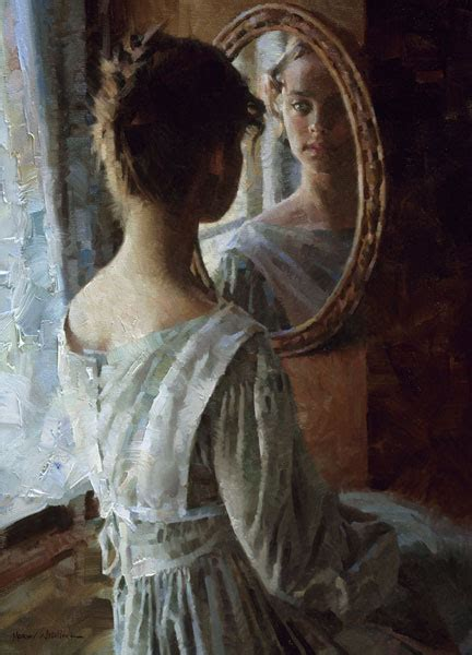 Reflections by figurative artist Morgan Weistling