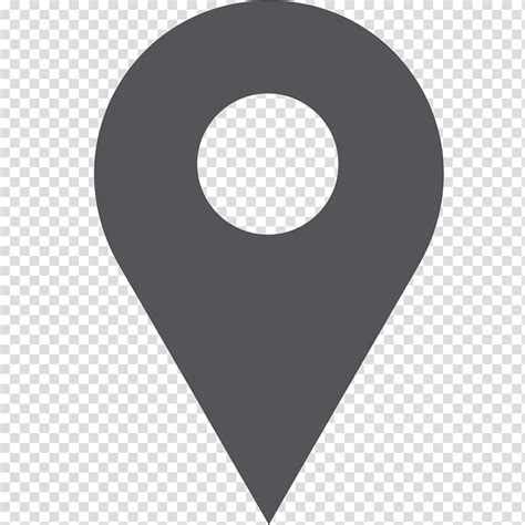 Library of location icon clip art black and white library