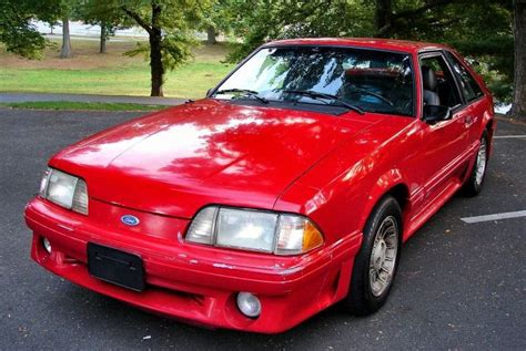 1989 Mustang Paint Colors