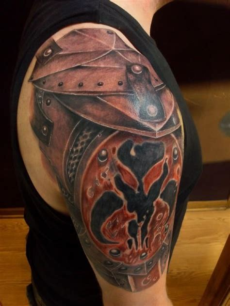Gladiator Tattoos Designs, Ideas and Meaning   Tattoos For You