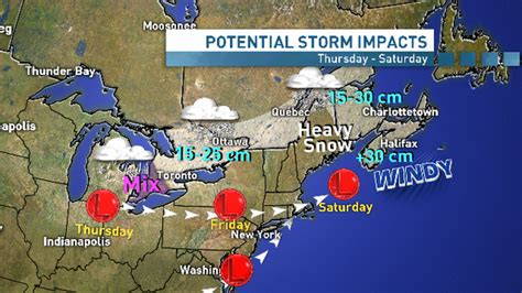 Latest updates on the storm - CBC