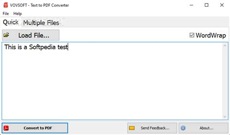 Download Text to PDF Converter 1