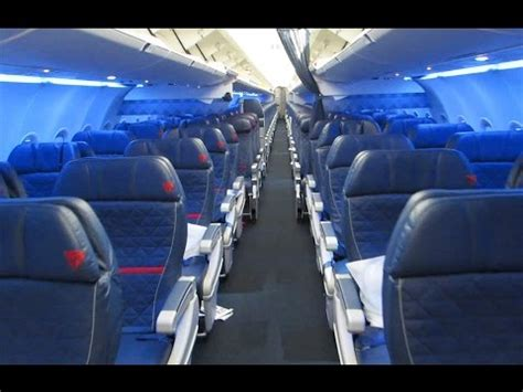 New Delta A321 cabin tour - YouTube