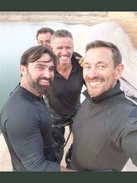 Former british special forces guys, filming the tv show